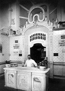 Interior de local La Martona 1908