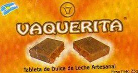 Tableta de ddl artesanal Vaquerita