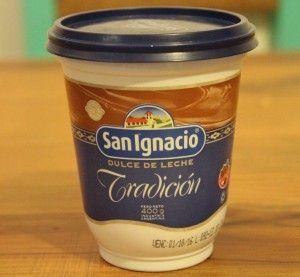 Dulce de leche San Ignacio en plástico