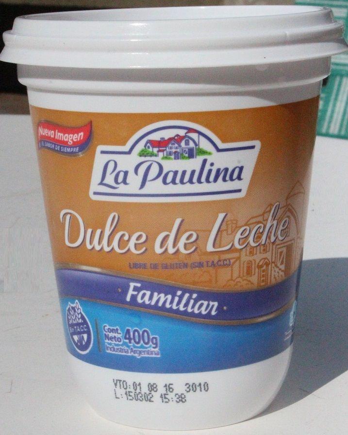 Dulce de leche La Paulina