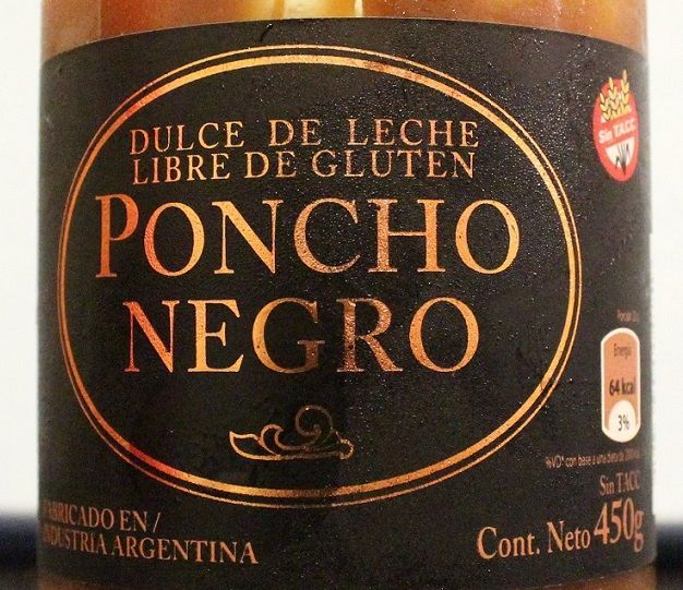 Dulce de leche Poncho Negro